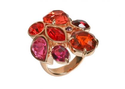 гламур h195 p 70 (кольцо) h195p070 кольца Alisa